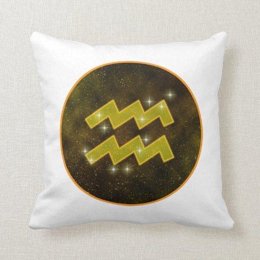 Aquarius Stars Pillow