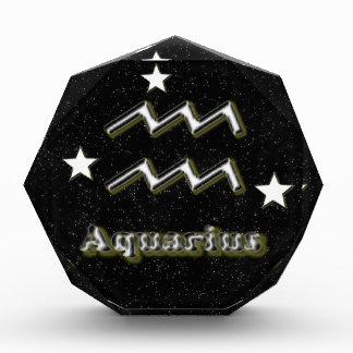Aquarius symbol award