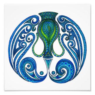 Aquarius Symbol Photo Print