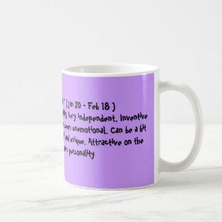 AQUARIUS - The Sweetheart Jan 20 - Feb 18 Coffee Mug