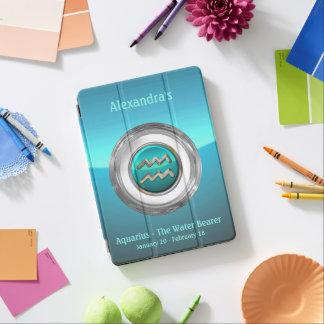 Aquarius - The Water Bearer Astrological Symbol iPad Air Cover
