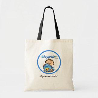 Aquarius - The Water Bearer Tote Bags