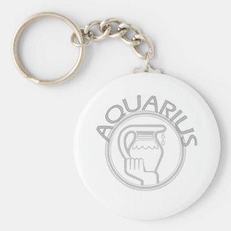 Aquarius The Water Bearer Keychain