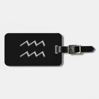 Aquarius the Water Bearer-Personalize Luggage Tag