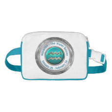 Aquarius - The Water Bearer Zodiac Sign Fanny Pack
