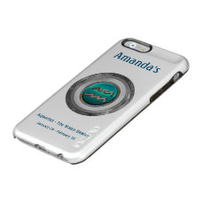 Aquarius - The Water Bearer Zodiac Sign Incipio Feather Shine iPhone 6 Case