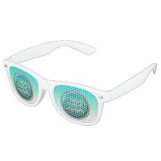Aquarius - The Water Bearer Zodiac Symbol Retro Sunglasses