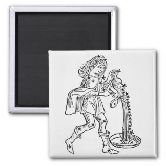 Aquarius (the Water Carrier) an illustration from Magnet