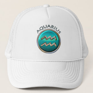 Aquarius - The Water Pitcher Astrological Sign Trucker Hat