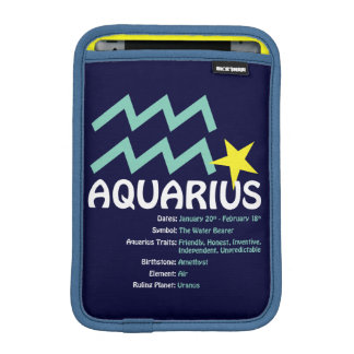 Aquarius Traits Case iPad Mini Sleeves