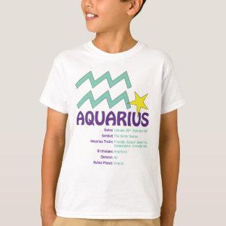 Aquarius Traits Kids T-Shirt