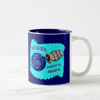 Aquarius Two-Tone Coffee Mug