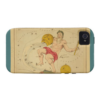 Aquarius  - Vintage Sign of the Zodiac Image Vibe iPhone 4 Cases