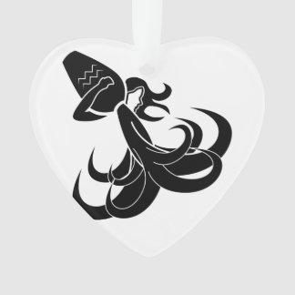 aquarius water bearer astrology horoscope zodiac ornament