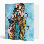 Aquarius Water Belly Dancing Goddess Binder