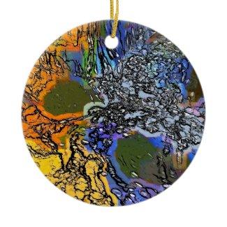 AQUARIUS WILD WATER ornament