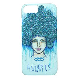 Aquarius Woman iPhone 8/7 Case