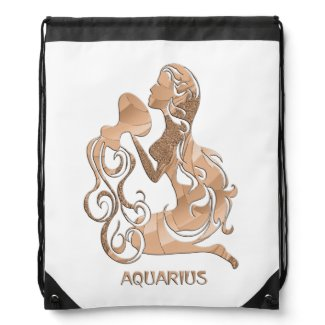 Aquarius Zodiac Backpacks