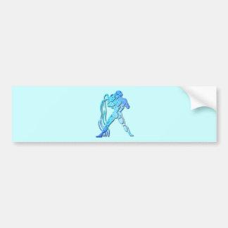 Aquarius Zodiac Bumper Sticker Car Bumper Sticker