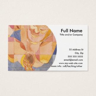 Aquarius Zodiac Business Card