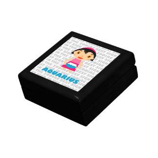 Aquarius Zodiac for Kids Gift Box