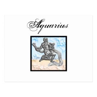 Aquarius Zodiac Items Postcard