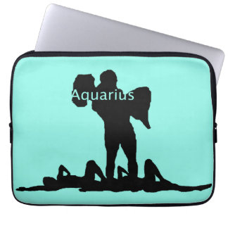 Aquarius Zodiac Laptop Sleeve
