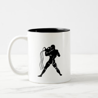 Aquarius Zodiac Pictogram Mug