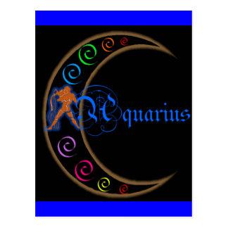 Aquarius Zodiac Post Card