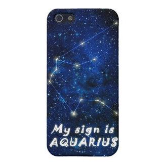 AQUARIUS zodiac sign - iPhone 5 featured case