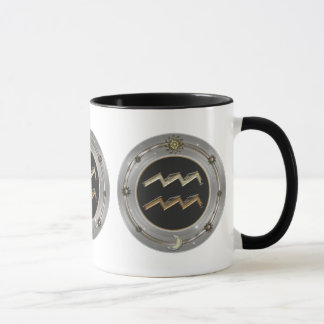 Aquarius Zodiac Sign Mugs