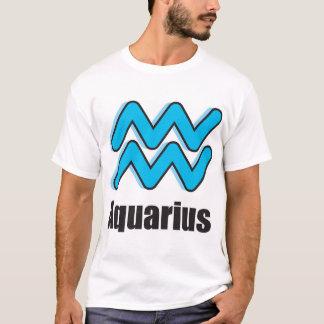 Aquarius Zodiac Sign T-Shirt