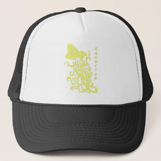 Aquarius Zodiac Sign Trucker Hat