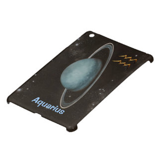AQUARIUS  Zodiac Sign, Uranus Planet iPad Mini Cover