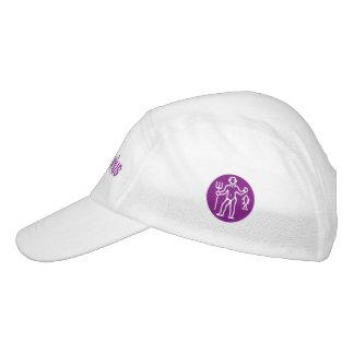 Aquarius Zodiac Sign Violet Hat