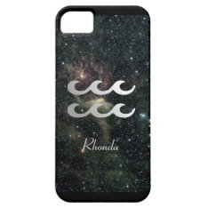 Aquarius Zodiac Star Sign Universe Iphone Se/5/5s Case at Zazzle