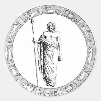 Aquarius Zodiac Stickers