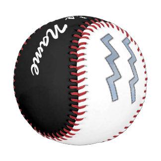 Aquarius Zodiac Symbol Element Baseball