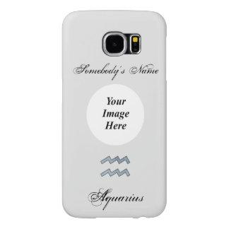 Aquarius Zodiac Symbol Element Samsung Galaxy S6 Cases