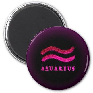 Aquarius Zodiac Symbol Magnet