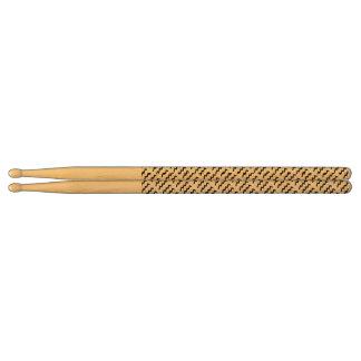 Aquarius Zodiac Symbol Standard Drumsticks