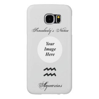Aquarius Zodiac Symbol Standard Samsung Galaxy S6 Cases
