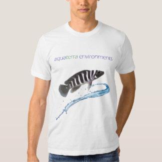 AquaTerra Environments Stylized Cichlid T-shirt