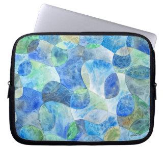 Aquatic Abstract Laptop Bag Laptop Sleeve
