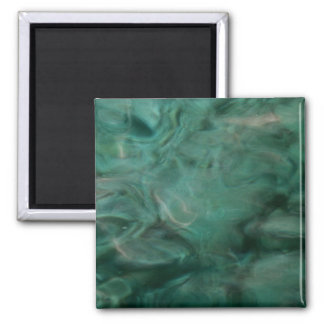 Aquatic Abstract - Painted by Nature Magnet