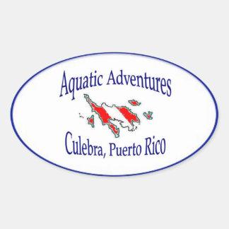 Aquatic Adventures Sticker