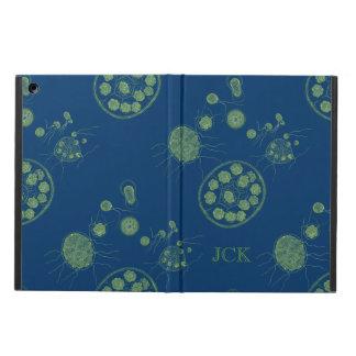 Aquatic Algae Pandorina Monogram iPad Air Cover