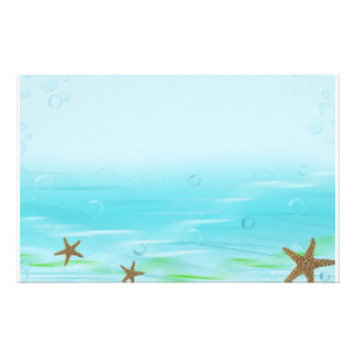 Aquatic Bubbles Stationery