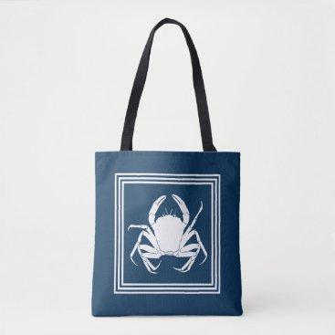Beach Themed Aquatic design tote bag