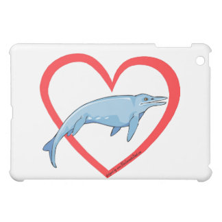 Aquatic dinosaur cover for the iPad mini